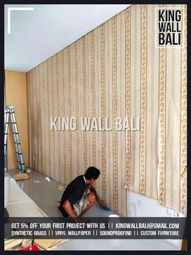 Pusat wallpaper vinyl dan wallpaper custom