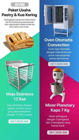 Alat usaha kue kering pastry croissant berkualitas di pekanbaru