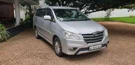 Toyota Innova v diesel  2012 year August its Re register in kerala