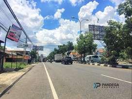 Tanah Dekat Bandara Adisucipto Cocok Apartemen di Tepi Jl. Solo Km.7