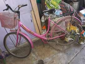 Hero Gold pink colour Ladies Cycle