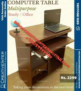 Office table desktop within budget Computer study workstation chair