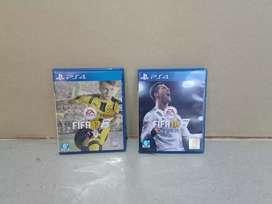 Kaset BD PS4 Fifa 17 & 18
