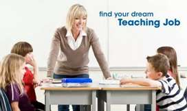 Female Teachers are required urgently in play school