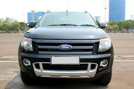 Ford Ranger WildTrack 4x4 AT Hitam 2014 - Double cabin
