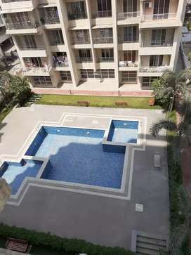 2bhk luxurious new flat on rent@11k