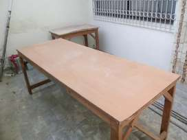 Wooden table used