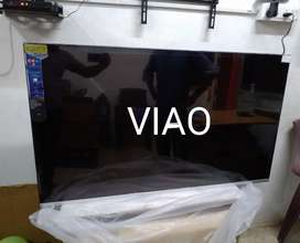 """Viao led tv 40"""" smart android tv just 12999 only today offer call me"""