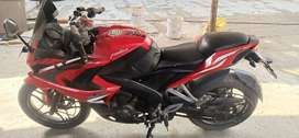 Rs Pulsar 200 red