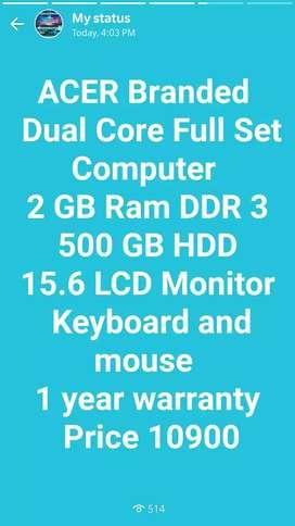 Used & Fresh Laptops Desktops Available