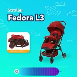 Stroller fedora