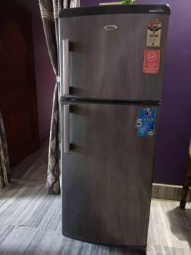 Whirlpool metallic silky silver fridge with 4star