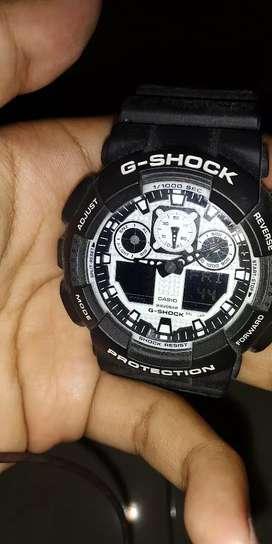 G SHOCK GA-100-BW