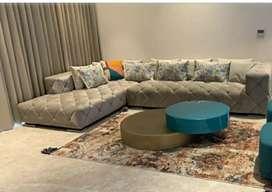 Victoria L shape sofa