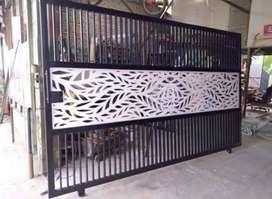 Kami bengkel las nerimah pembuatan pagar kating laser $$1792