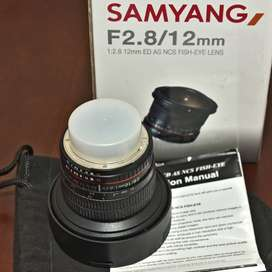 Samyang 12mm F2.8 Fisheye Lens for Nikon DSLR FX Body