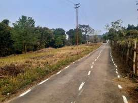 Lake front roadside Land for sale 36000 sq ft approx