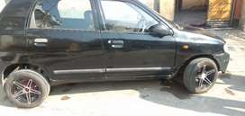 Gud look alto lxi with alloy full system back camra also