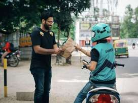 Urgently required food delivery executives for dunzo
