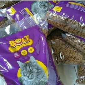 Nplt bentuk DONAT makanan kucing repack kemasan 1kg