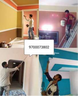 Home painting, wall painting, house painting, electrician, home clean