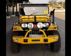 special Yellow colourd jeep