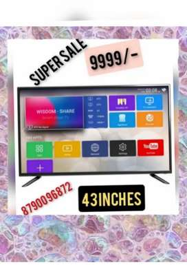 OFFER on Brand new smart 43 inches 4k LED TV WITH 2 YEAR WARRANTY