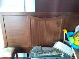 Ranjang tempat tisu/dipan jati tua Cilangkap Jakarta timur