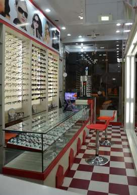 OPTICAL SHOP FOR SALE