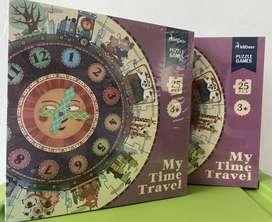 Mainan Puzzle Anak - Mideer My Time Travel