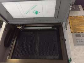 Laser and engraving machine A4 size cutting depth 3mm