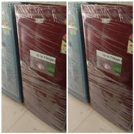 RED LG REFRIGERATOR WITH 5 YEARS WARRANTY