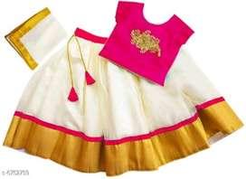 Stylish Kids Girls Lehanga Cholis* 465 only freeshipping and cod avail