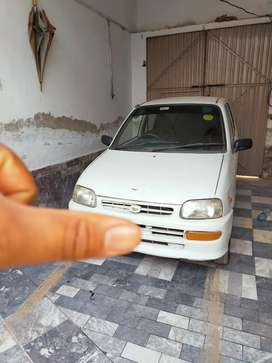 Cuore 2001 white colour for sale in charsadda