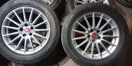 "Genuine Old JAGUAR 17"" ALLOY WHEEL"