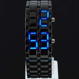 Jam iron led watch