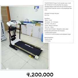 Treadmill Elektrik Merk Total 629 //( Jual Sepeda Statis & Home Gym )
