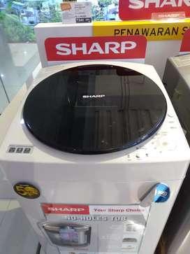 Mesin cuci SHARP WASH MACHINE credit proses cepat