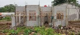 Rumah kontrakan satu kamar dijual murah 100 jutaan perpintu