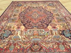 Tabriz pictorial rugs