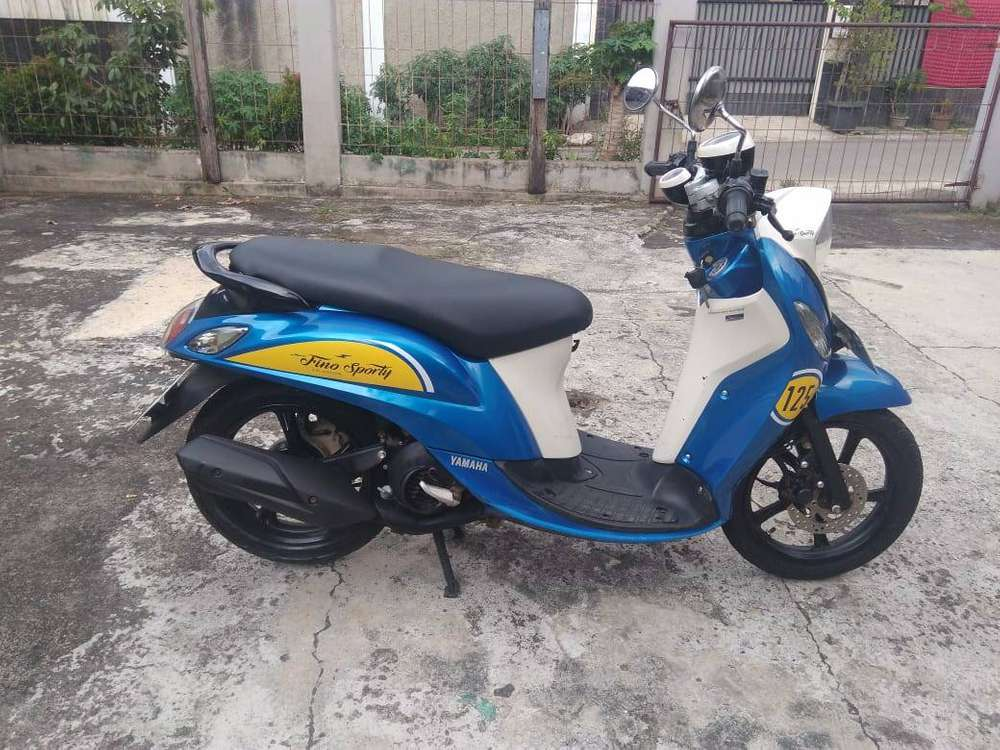 Fino 125 Sporty 2018, Cash- Kredit, Dp 300
