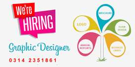 Need Graphics Designer as Part Time