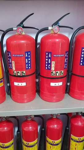 Refilling Fire Extinguishers & New