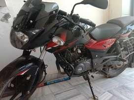 Pulsor bike 150 cc, 2018 model, passion red