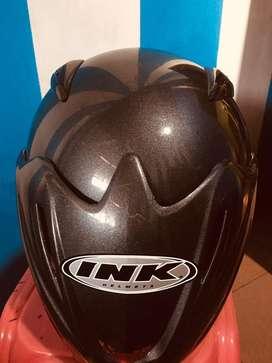 Helm INK Abu Size M 250k bisa nego