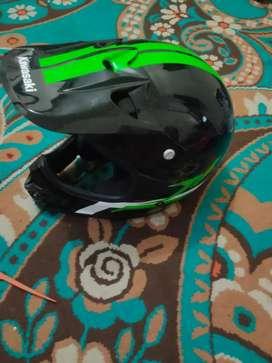 Helm cross kawasaki lx