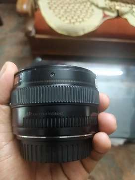 50mm lens 1.4 working condition