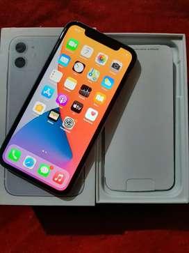Iphone 11 128Gb fullset mulus poll