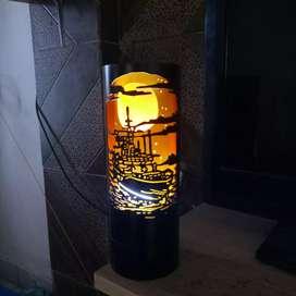 Lampu Hias PVC Unik