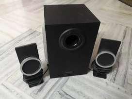 Home theatre audio (Make:CREATIVE) 2 speakers